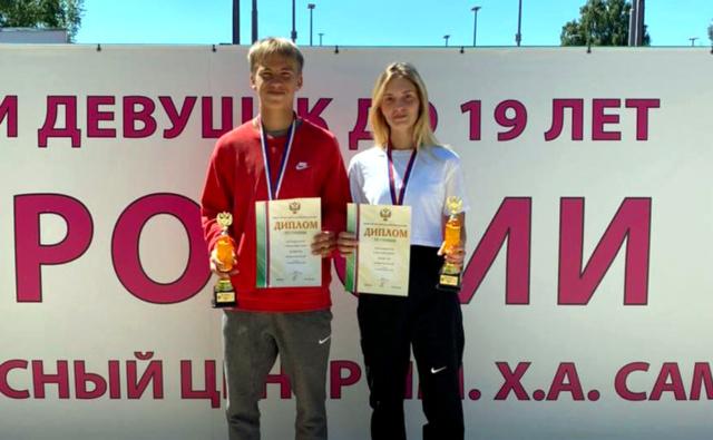 Mingaleev Borozdenko Tennis